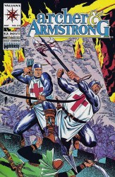 ARCHER & ARMSTRONG (1992) #25 NM