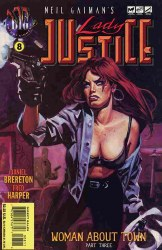 LADY JUSTICE (VOL. 2) #8 NM