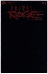 PRIMAL RAGE #1 RED FOIL LOGO NM-
