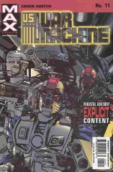 U.S. WAR MACHINE #11 NM