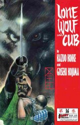 LONE WOLF AND CUB #36 NM-