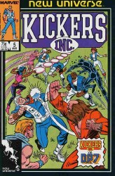 KICKERS, INC. #5 NM
