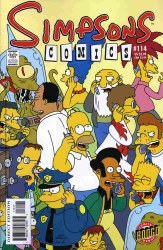 SIMPSONS COMICS #114 NM-