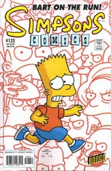SIMPSONS COMICS #123 NM-