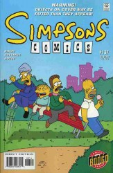 SIMPSONS COMICS #137 NM-