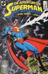 ADVENTURES OF SUPERMAN #440 NM-