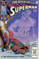 ADVENTURES OF SUPERMAN #474 NM-