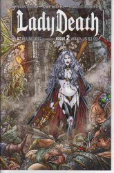 LADY DEATH (ONGOING) #2 WRAP CVR