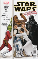 STAR WARS (2015) #01 CHRISTOPHER HUMOROUS PARTY VAR