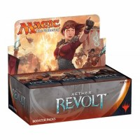MAGIC THE GATHERING AETHER REVOLT BOOSTER DISPLAY