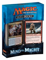 MAGIC THE GATHERING DUEL DECK MIND VS MIGHT