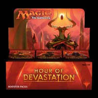 MAGIC THE GATHERING HOUR OF DEVESTATION BOOSTER DISPLAY