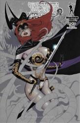 TAROT WITCH OF THE BLACK ROSE #114 (MR) B CVR