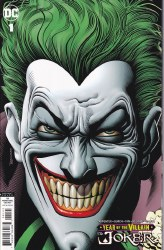 JOKER YEAR OF THE VILLAIN #1 RETAILER INCENTIVE ED