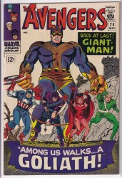 AVENGERS (1963) #028 APPARENT VF+   TRIMMED