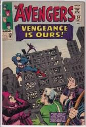 AVENGERS (1963) #020 VF-