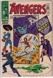 AVENGERS (1963) #026 VF-