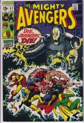 AVENGERS (1963) #067 VF-