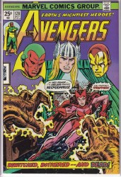 AVENGERS (1963) #128 VF