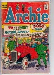ARCHIE #183 VG-