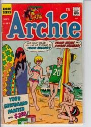 ARCHIE #185 GD+
