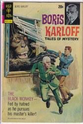 BORIS KARLOFF TALES OF MYSTERY #46 VG