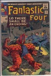 FANTASTIC FOUR (1961) #043 VG-
