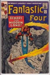 FANTASTIC FOUR (1961) #047 VG