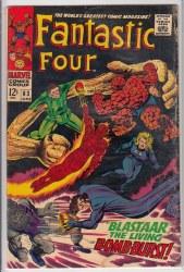 FANTASTIC FOUR (1961) #063 GD