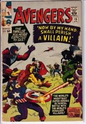 AVENGERS (1963) #015 VG-