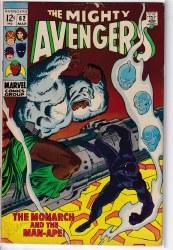 AVENGERS (1963) #062 GD+
