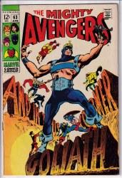 AVENGERS (1963) #063 FN/VF