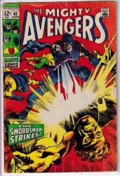 AVENGERS (1963) #065 VG