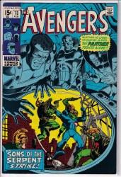 AVENGERS (1963) #073 VF