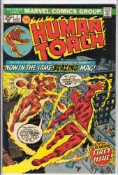 HUMAN TORCH (1974) #1 VF-