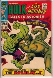 TALES TO ASTONISH (1959) #91 VG+