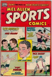 MEL ALLEN SPORTS COMICS #2 VF-