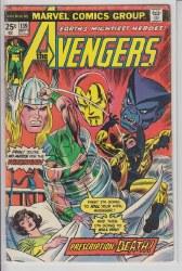 AVENGERS (1963) #139 VG