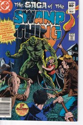 SAGA OF THE SWAMP THING #01 VF
