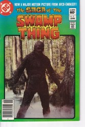 SAGA OF THE SWAMP THING #02 NM-