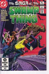 SAGA OF THE SWAMP THING #03 NM-