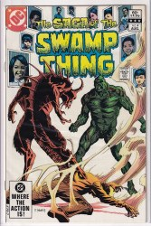 SAGA OF THE SWAMP THING #04 FN+