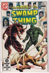 SAGA OF THE SWAMP THING #04 VF-