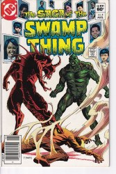 SAGA OF THE SWAMP THING #04 VF/NM