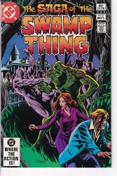 SAGA OF THE SWAMP THING #05 NM-