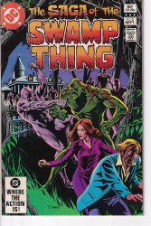 SAGA OF THE SWAMP THING #05 VF-