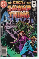 SAGA OF THE SWAMP THING #05 VG/FN