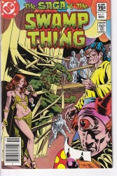 SAGA OF THE SWAMP THING #07 VF