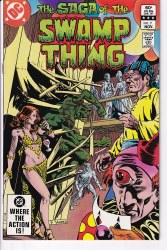 SAGA OF THE SWAMP THING #07 VF+