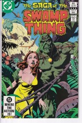 SAGA OF THE SWAMP THING #08 NM-